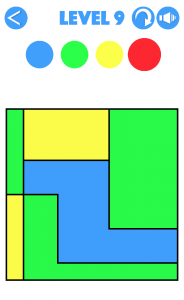 4 Colours Level 9 Walkthrough