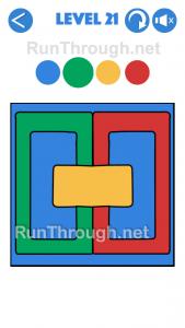 4 Colours Walkthrough Level 21
