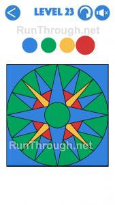 4 Colours Walkthrough Level 23