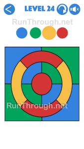 4 Colours Walkthrough Level 24
