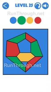 4 Colours Walkthrough Level 25