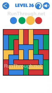 4 Colours Walkthrough Level 26
