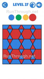 4 Colours Walkthrough Level 27