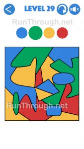 4 Colours Walkthrough Level 29