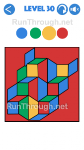 4 Colours Walkthrough Level 30