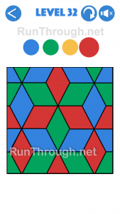 4 Colours Walkthrough Level 32