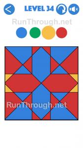4 Colours Walkthrough Level 34