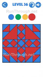 4 Colours Walkthrough Level 36