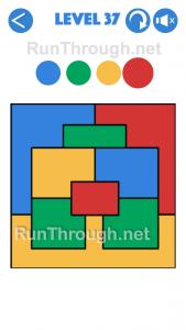 4 Colours Walkthrough Level 37