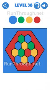 4 Colours Walkthrough Level 38
