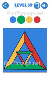 4 Colours Walkthrough Level 39