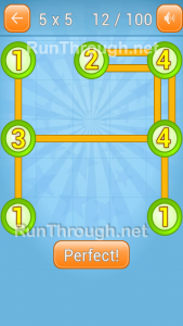 LinkyDots 5x5 Level 12