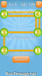 Linky Dots Walkthrough 5x5 Pack Level 64