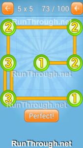 Linky Dots Walkthrough 5x5 Pack Level 73