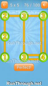 Linky Dots Walkthrough 5x5 Pack Level 76
