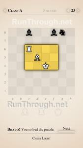 Chess Light Walkthrough Class A Level 23