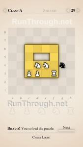 Chess Light Walkthrough Class A Level 29