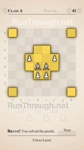 Chess Light Walkthrough Class A Level 41