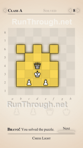 Chess Light Walkthrough Class A Level 8