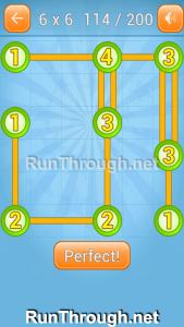 Linky Dots Walkthrough 6x6 Level 114
