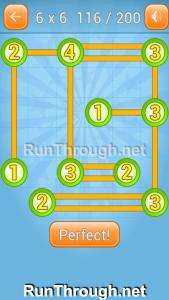 Linky Dots Walkthrough 6x6 Level 116