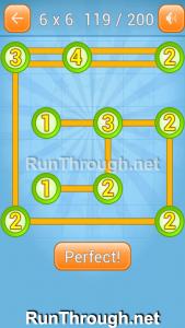 Linky Dots Walkthrough 6x6 Level 119