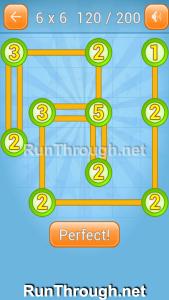 Linky Dots Walkthrough 6x6 Level 120