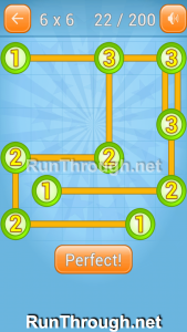 Linky Dots Walkthrough 6x6 Level 22