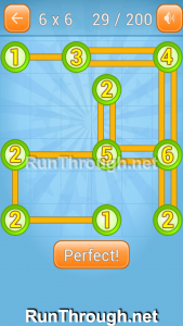 Linky Dots Walkthrough 6x6 Level 29