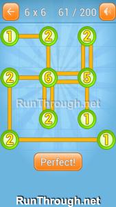 Linky Dots Walkthrough 6x6 Level 61