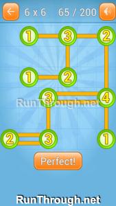 Linky Dots Walkthrough 6x6 Level 65