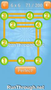Linky Dots Walkthrough 6x6 Level 71