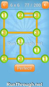 Linky Dots Walkthrough 6x6 Level 77