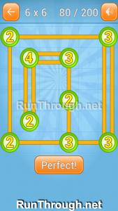 Linky Dots Walkthrough 6x6 Level 80