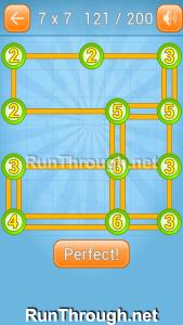 Linky Dots Walkthrough 7x7 Level 121