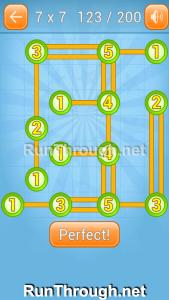 Linky Dots Walkthrough 7x7 Level 123
