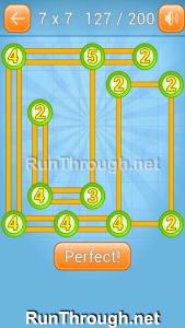 Linky Dots Walkthrough 7x7 Level 127
