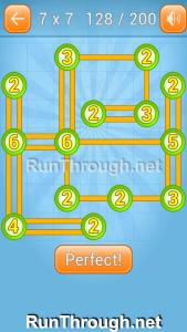 Linky Dots Walkthrough 7x7 Level 128