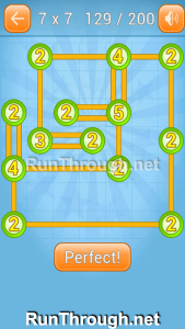 Linky Dots Walkthrough 7x7 Level 129