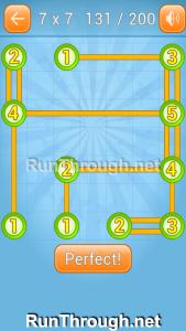 Linky Dots Walkthrough 7x7 Level 131