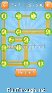 Linky Dots Walkthrough 7x7 Level 132