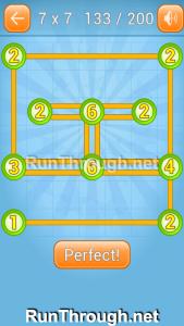 Linky Dots Walkthrough 7x7 Level 133
