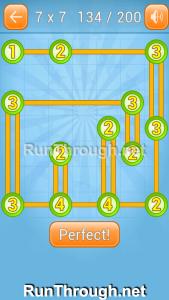 Linky Dots Walkthrough 7x7 Level 134