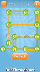 Linky Dots Walkthrough 7x7 Level 135