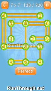 Linky Dots Walkthrough 7x7 Level 138