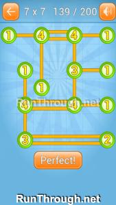 Linky Dots Walkthrough 7x7 Level 139