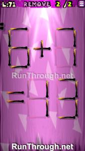 Matches Puzzle Walkthrough Episode 3 Level 71