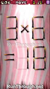 Matches Puzzle Walkthrough Episode 3 Level 74