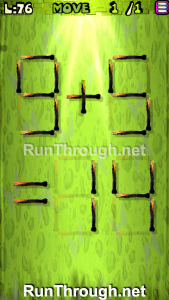 Matches Puzzle Walkthrough Episode 3 Level 76