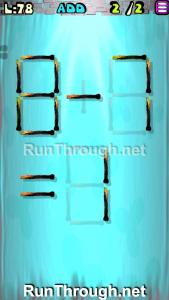 Matches Puzzle Walkthrough Episode 3 Level 78